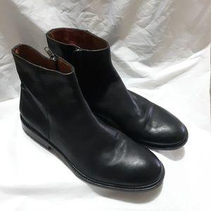 Frye Black Chris Inside Leather Boots 10D